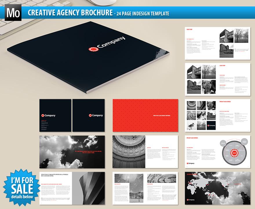 Creative Agency Brochure by Matt-designs