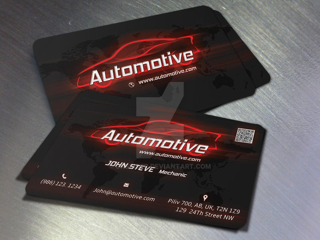 Automotive business card by oksrider on deviantart automotive business card by oksrider reheart Gallery