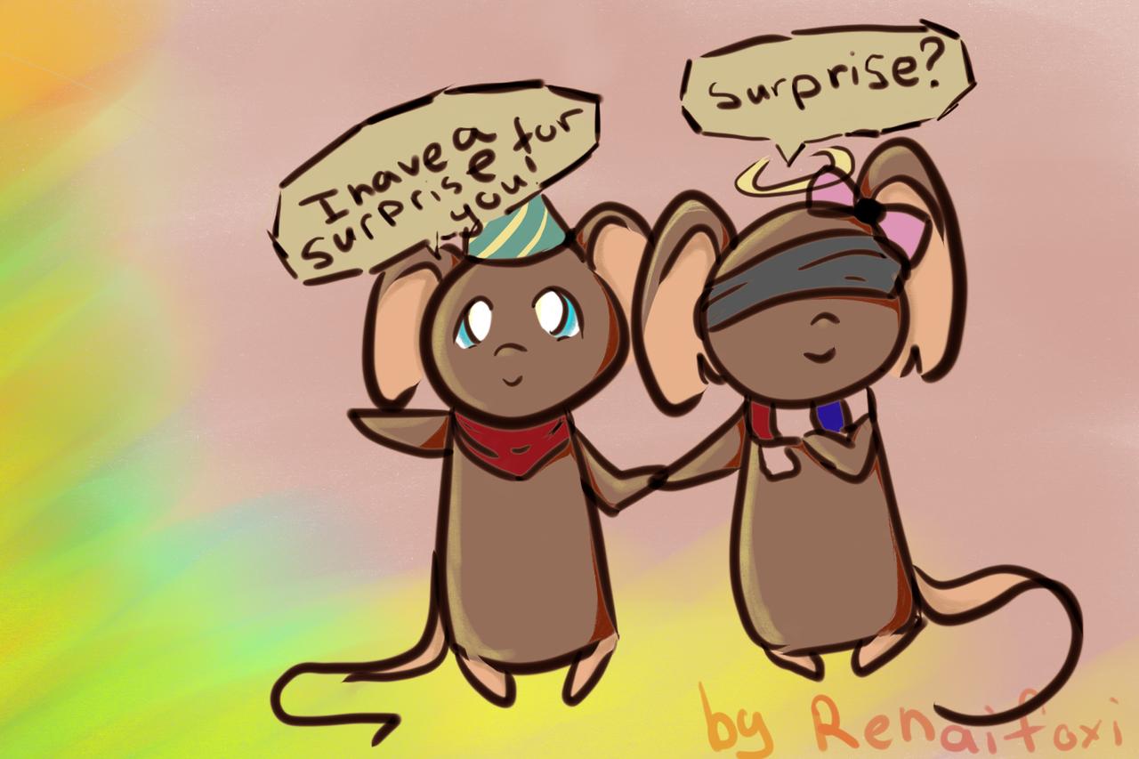 Surprise by Renaifoxi