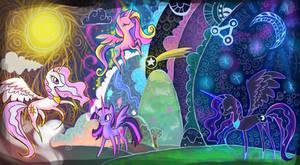 The Legendary Alicorns
