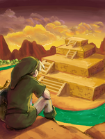 Link to the Past by Kikixeni