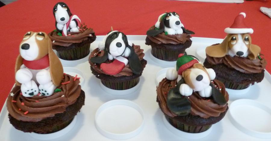Basset cupcakes...