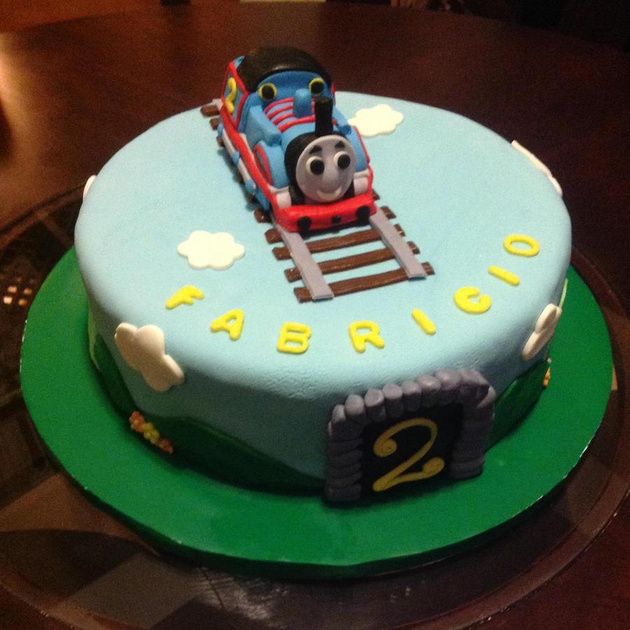 Cake Images Of Thomas The Train : Thomas train Cake by Marce07 on DeviantArt