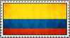 Colombian Stamp by Djmusicandcartoons