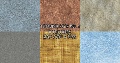 Material Textures Pack 1 by YulizieLove