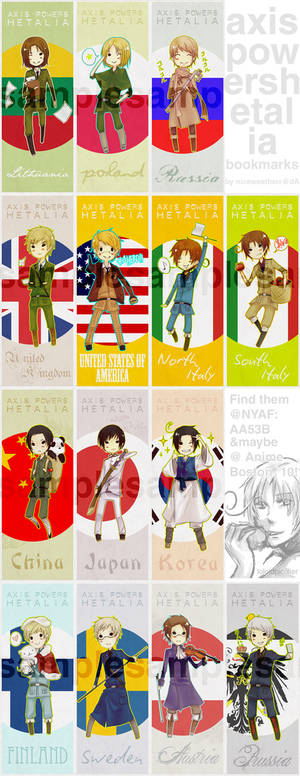 APH bookmarks