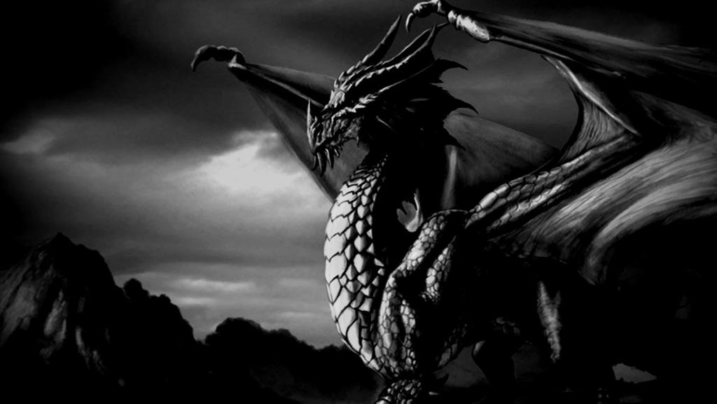 Attor the dragon of Darkness by The-DarkWolf1999