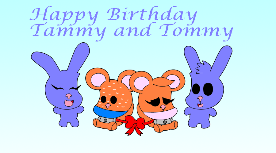 Happy birthday Tammy and Tommy by efilvega