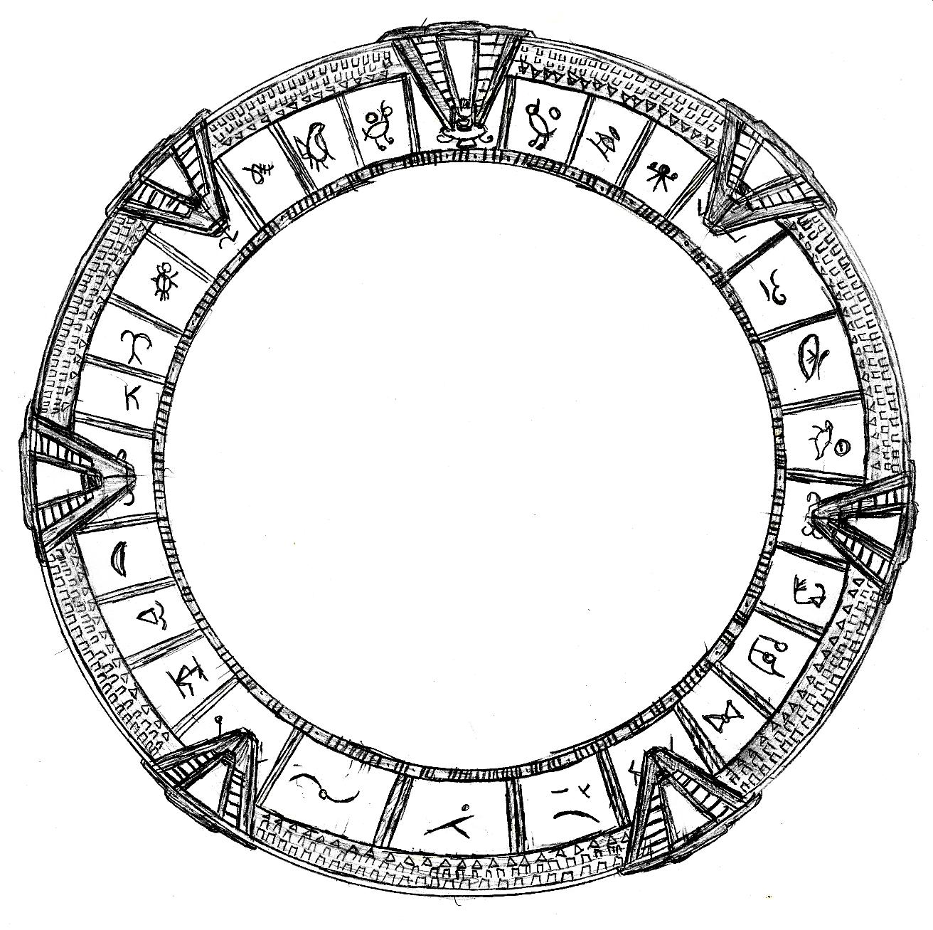 Stargate Sketch By Scarry On Deviantart