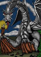 Fantasy Dragon by welder-girl