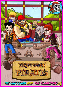 Driftwood Pirates #1 Cover