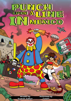 Punch Upon A Line In Mexico Comic Cover