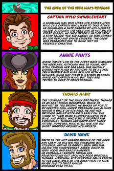 Driftwood Pirates: Crew of the Keen Ann's Revenge