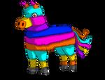 Churro The Burro - Pinata Hero