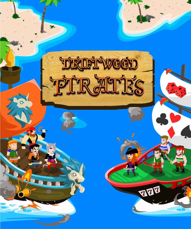 Driftwood Pirates Poster