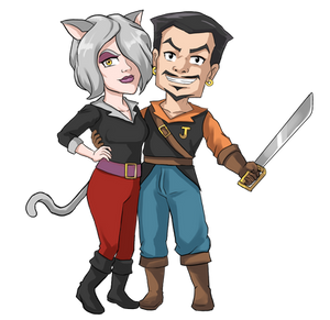 Driftwood Pirates - Jor Reno and Nevan Faust