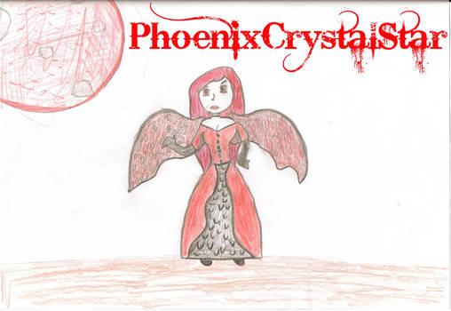 Red Angel- PhoenixCrystalStar