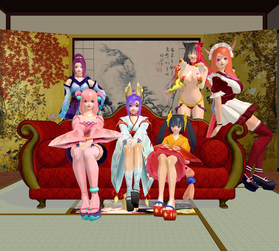Onigiri Online [MMD] by Purinsesu-Akari