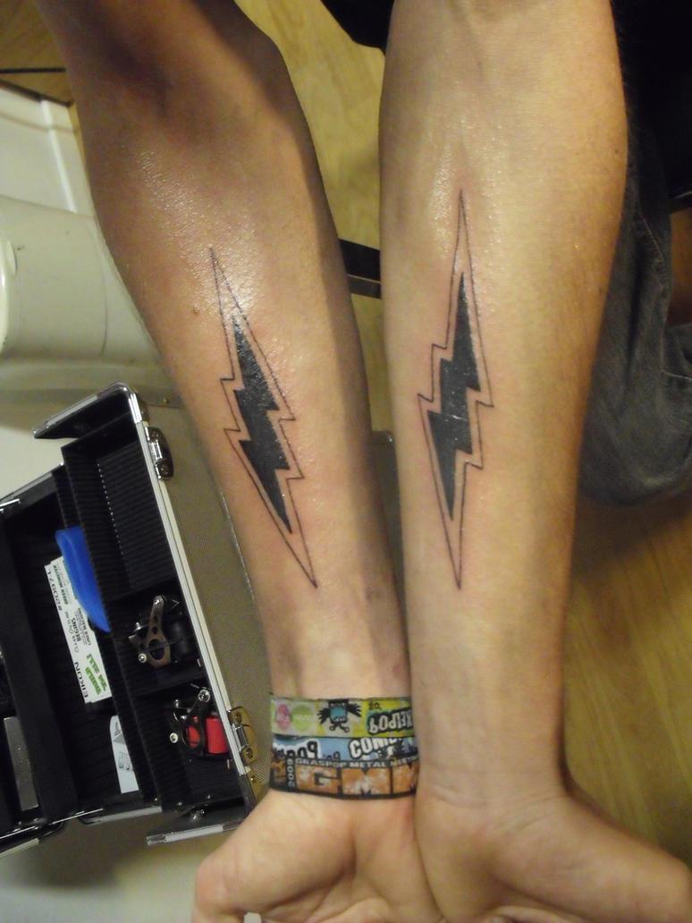 & lightning tattoo by Blotsven on DeviantArt