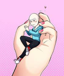 tiny man by MorpangII