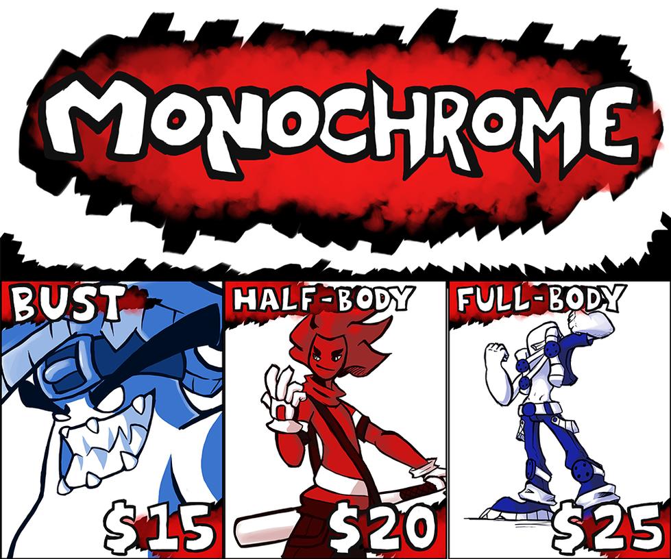MonochromeSheet by TheonknownKLAW