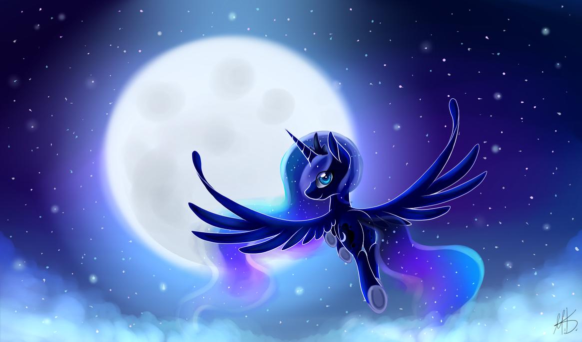 Lunar Princess by Melon-Drop