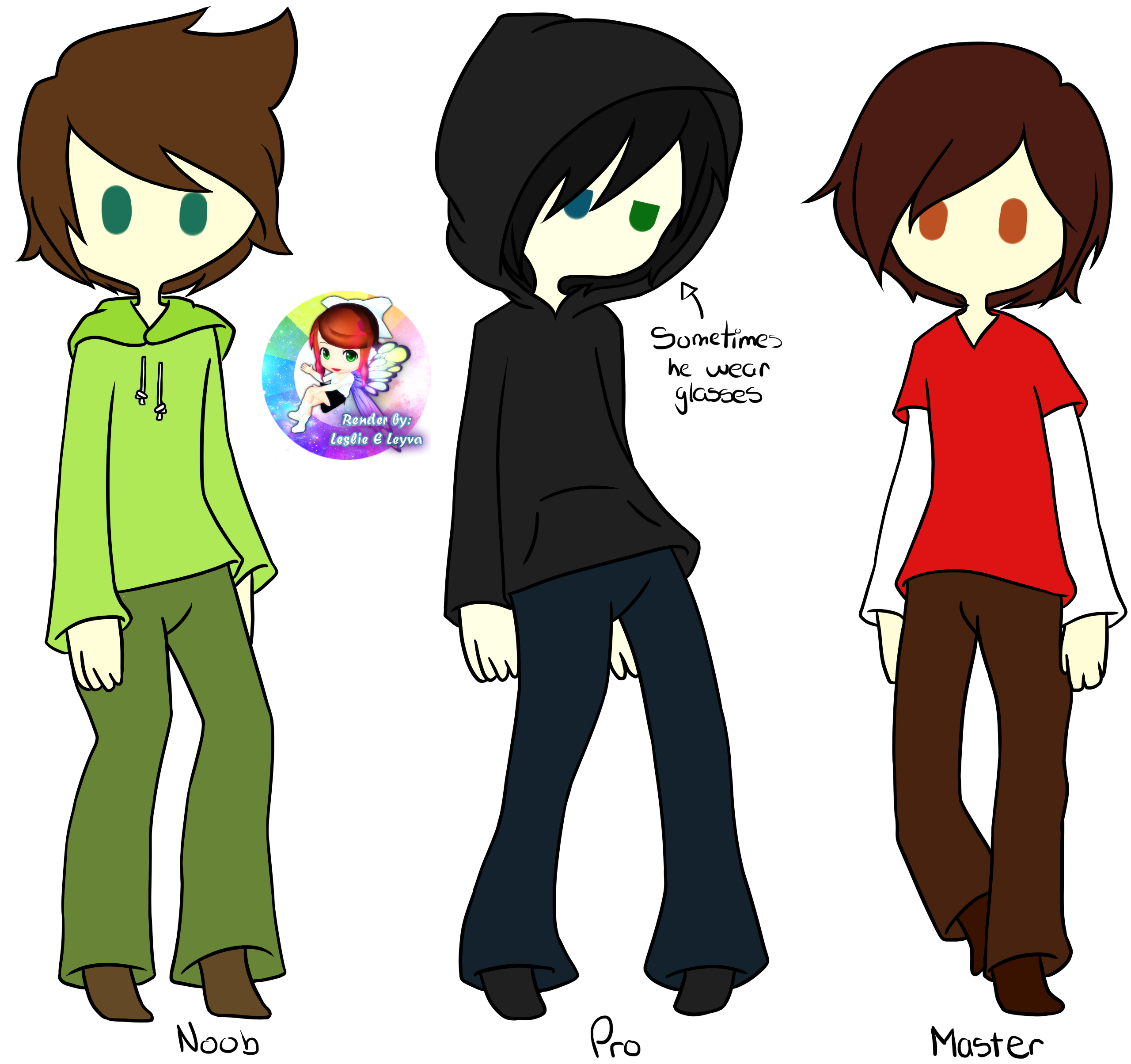 Colors From Male Ocs By Candlehead99 On Deviantart