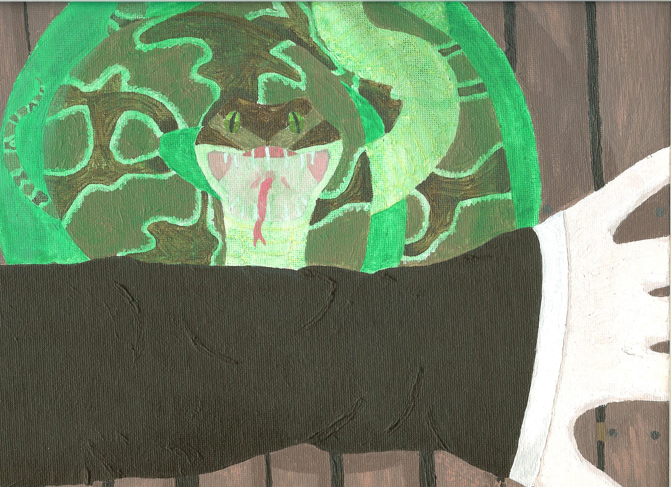 General Art The_death_of_Severus_Snape_by_Nez_Niz92