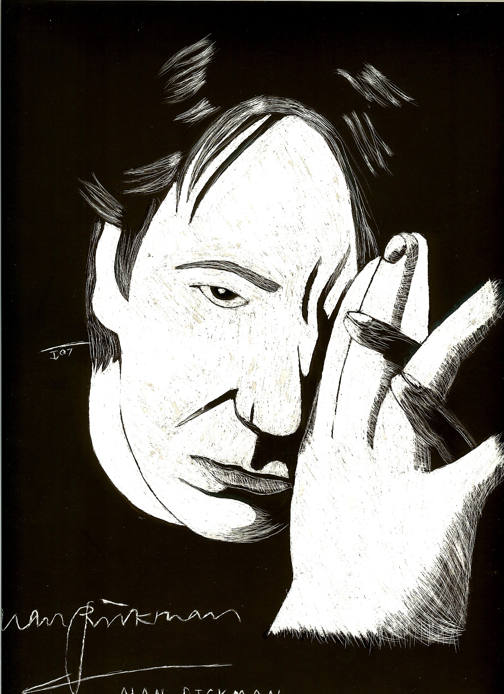 General Art Alan_Rickman_by_Nez_Niz92
