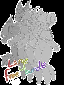F2U Large Chibi Bundle