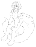 Kit-dragon F2U Lineart