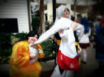 rin and sesshomaru by ZephieRoo