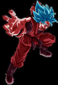 Goku SS Blue Kaioken X20 Render 1 (Alt.6)