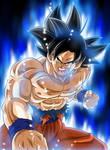Goku Ultra Instinto Presagio (Poster)