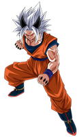 Goku Super Saiyajin 9 Render 1 (Alt.1)