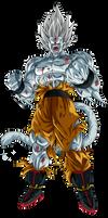 Goku SSJ10 Poder Prohibido Render 1