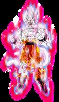 Goku SSJ10 Render 1 (Con Aura)