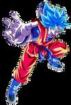 Goku SS Blue Kaioken X20 Render 1 (Alt.9)