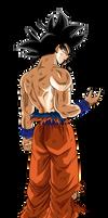 Goku Ultra Instinto Presagio Render 2
