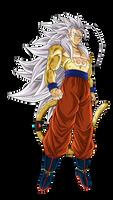 Goku SSJ Mystic 5 Render 2