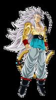 Goku SSJ Mystic 5 Render 2 (Alt.2)