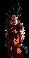 Goku SSJ Mystic Render 1