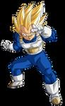 Vegeta Super Saiyajin Blue Render 1 (Alt.1)