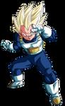 Vegeta Super Saiyajin Blue Render 1 (Alt.11)