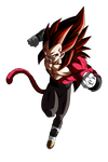 Vegeta SSJ4 Limit Breaker Render 1 (Alt.1)