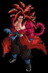 Goku Xeno SSJ4 Limit Breaker | 2