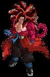 Goku Xeno SSJ4 Limit Breaker   2