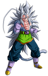 Vegetto SSJ5 Render 1