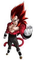 Vegeta Xeno SSJ4 Limit Breaker | 2