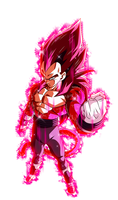 Vegeta SSJ4 Limit Breaker (Con Aura)